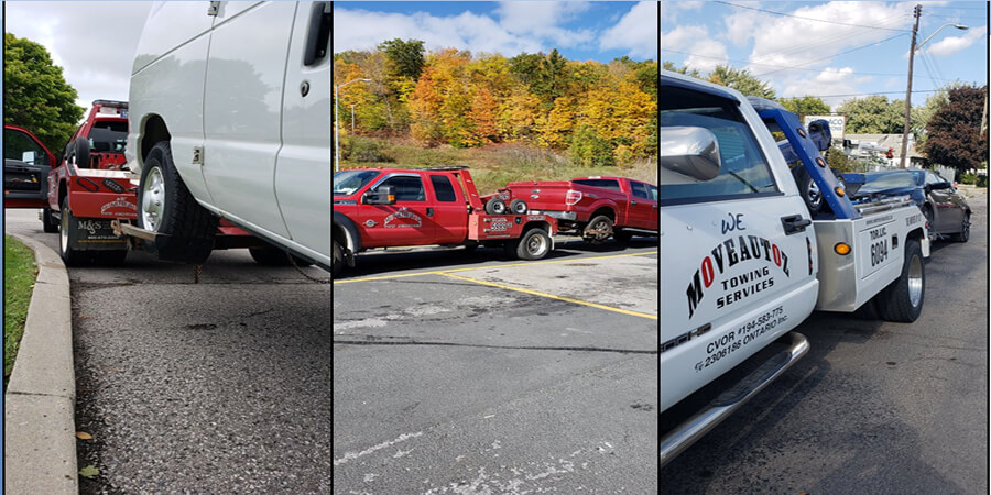 Auto towing in vaughan