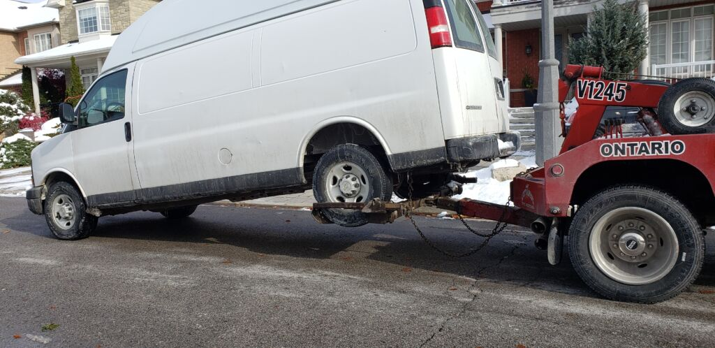 medium Towing and road side assistance