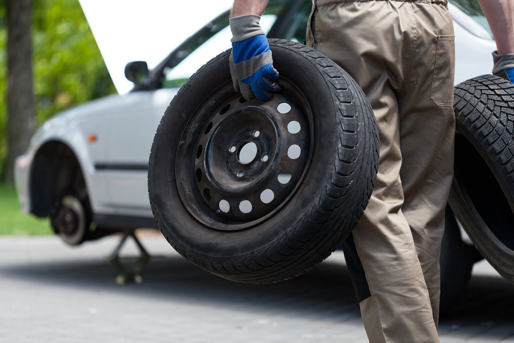 Tire changing services